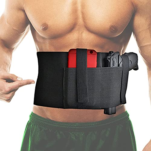 Tactical Belly Band Holster for Concealed Carry Pistol Hand...