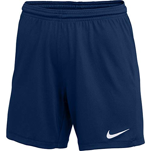 Nike Womens Park III Shorts Navy L