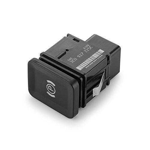 ONEVER Universal Car Parts EPB Interruptor de freno electrónico de freno de mano de repuesto para VW Volkswagen Passat B6 CC