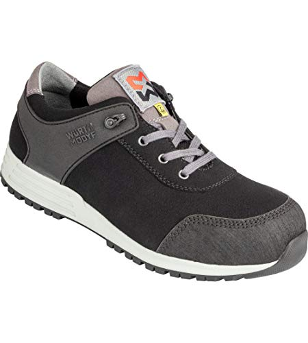 WÜRTH MODYF Sicherheitsschuhe S3 ESD SRC Nature schwarz: Der multifunktionale Schuh ist in Größe 43 erhältlich. Der zertifizierte Arbeitsschuh ist ideal für Lange Arbeitsalltage.