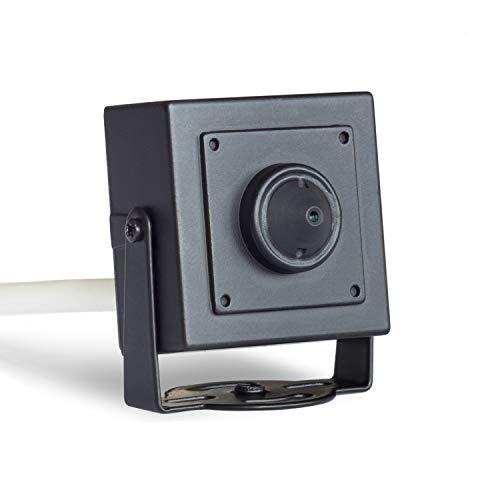 lookcctv 1080P Mini cámara cámara Oculta Cámaras de Seguridad portátiles para el hogar Cámara IP Cuadrada Oculta PoE Lente de 3,7 mm Onvif/Ver de Forma remota