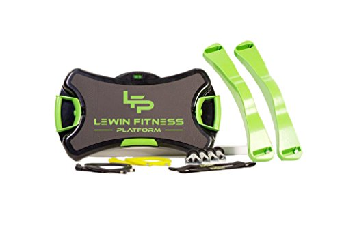 Lewin Fitness Platform -...Sale. was $179. Now $159 .The Most Versatile Home Gym in The World.30 Level Resistance, Set of Interchangeable Stretch Resistance Bands,