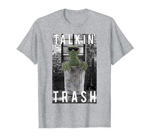 Sesame Street Oscar the Grouch Talkin' Trash T-Shirt