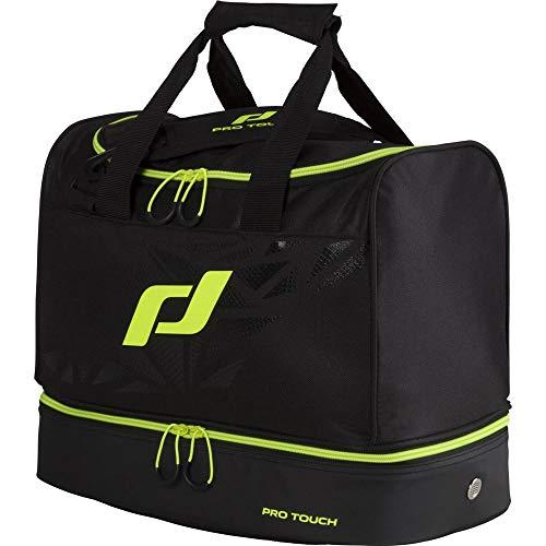 Pro Touch Sporttasche Pro Bag S Force Schultertasche, Schwarz/Gelb,One Size