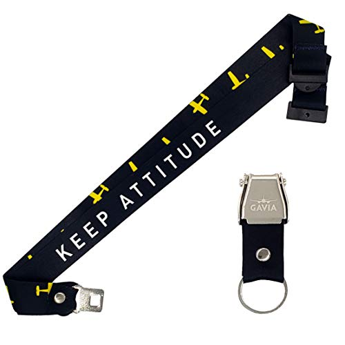 Flying Attitude Lanyard - Aviation Gifts Pilot Gifts Pilot Lanyard Accessories