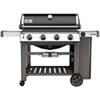Genesis II SE-410 Premium 4-Burner 48,000-BTU LP Gas Grill (Black)