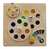 BIUYYY Coloré Puzzles en Bois - Jouets Muraux Platine Vinyle Colorée - Jeux Éducatifs Casse-Tête Modèles Au Choix