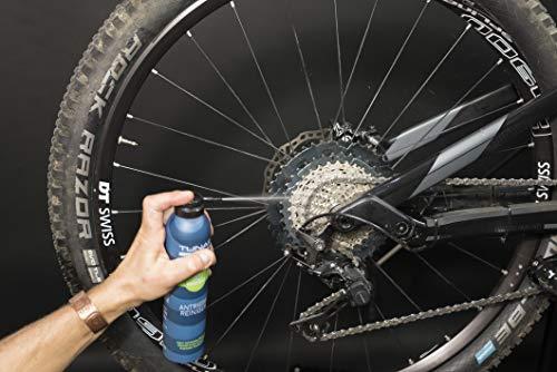 TUNAP SPORTS E-Bike Antriebsreiniger, 300 ml | Reinigung von Antrieb, Kette und Ritzel speziell für das Elektrofahrrad| aufsteckbare Pinselbürste - 6