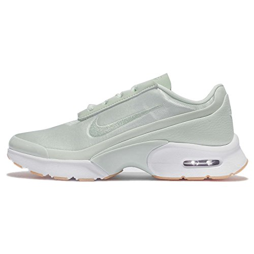 Nike Damen Air Max Jewell QS Sneaker, Türkis - Fibreglass/White/Gum Yellow - Größe: 37.5 EU