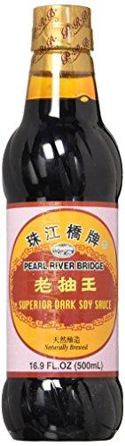 Soy Sauce, Pearl River Bridge Superior Dark ,16.9-Ounce Plastic...