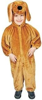 Dress Up America Sensational Plush Brown Puppy Costume