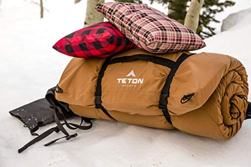 TETON Sports Outfitter XXL Camp Pad; Sleeping Pad for Car Camping , Brown