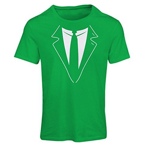 lepni.me N4591F Camiseta Mujer The Big Boss (XX-Large Verde Multicolor)