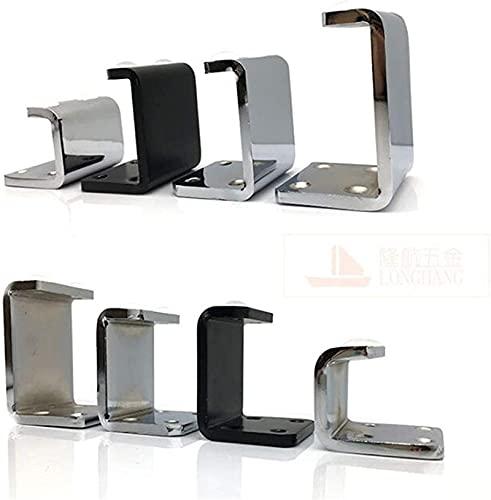 JYV Muebles Pesados Soporte de Muebles Pierna C Metal C Forma Pies de nivelación para Sofá Gabinete Mesa Silla Pies Protector de Piso Piezas de Repuesto Piernas de Muebles