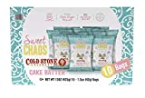 Sweet Chaos Handmade Kettle Corn, Coldstone Creamery Cake Batter Drizzle, 1.5 Ounce Bag (Pack of 10)
