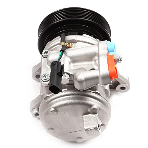 ECCPP AC Compressor fit for 1999-2006 for J-eep TJ J-eep Grand Cherokee J-eep Wrangler 4.0L CO 22034C
