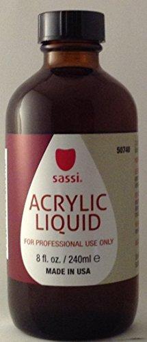 Sassi Acrylic Liquid, 8 Ounces