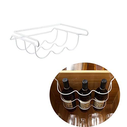 BBGSFDC Wine Rack,Can Beer Wine Bottle Holder Rack Storage Fridge Organizer Shelves Suitable for Refrigerator Bar Kitchen Rack Shelf (Color : 1)