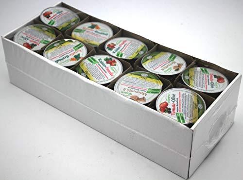 Quint Vitaness Mischkarton veganer Brotaufstrich 4-fach Sortiert, 1er Pack (1 x 1250g)