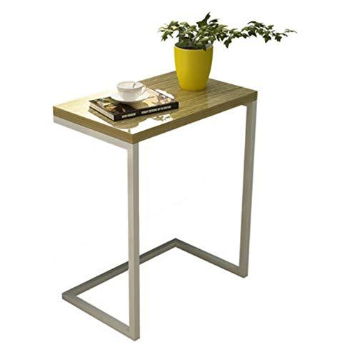 Zaixi Table d'appoint Salon Table d'appoint Table Basse Support pour Ordinateur Portable Table de Nuit Canapé de Chevet Canapé Table de Soins 48 (L) * 30 (L) * 58 (H) cm Forte capacité portante