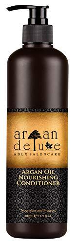 Argan Deluxe Conditioner in Friseur-Qualität 500 ml - stark pflegend mit Arganöl für Geschmeidigkeit & Glanz - für Damen und Herren