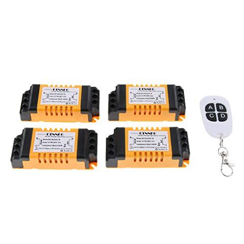 prasku Interruptor de Control Remoto de de RF Inteligente Inalámbrico para El Hogar Y La Industria AC 90-260V