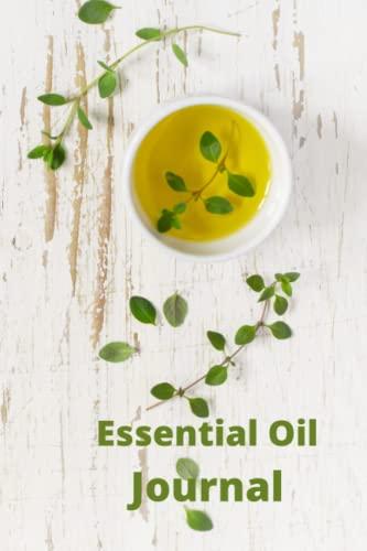 Essential Oil Journal: Organize Essential Oil Recipes