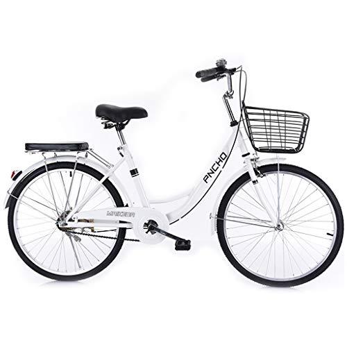 ZDZXC Mini Bicicleta Bicis Compactas Ultraligeros para Desplazamientos Masculinos Y Femeninos Ciclismo Marco De Acero De Alto Carbono Cojín Cómodo para Estudiantes, Trabajadores De Oficina