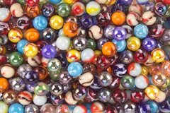 Fabricas Selectas 66167 Premium Assortment Player Size Marbles 500-Poly