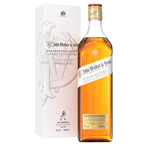Johnnie Walker Old Highland, Celebratory Blend - 200 Jahre, Exklusiv Blended Whisky (1 x 0.7 l)