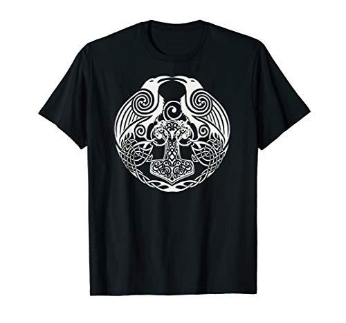 Viking Celtic Huginn & Muninn - Odin's Ravens Viking SHIRT T-Shirt
