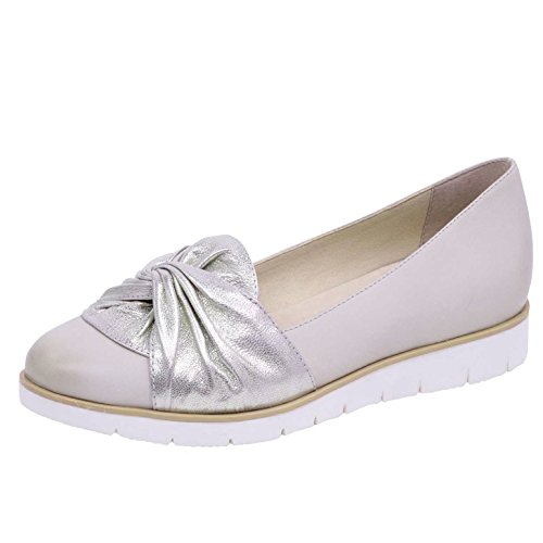 CAPRICE Damen Slipper 9-9-24607-20/403 beige 400906