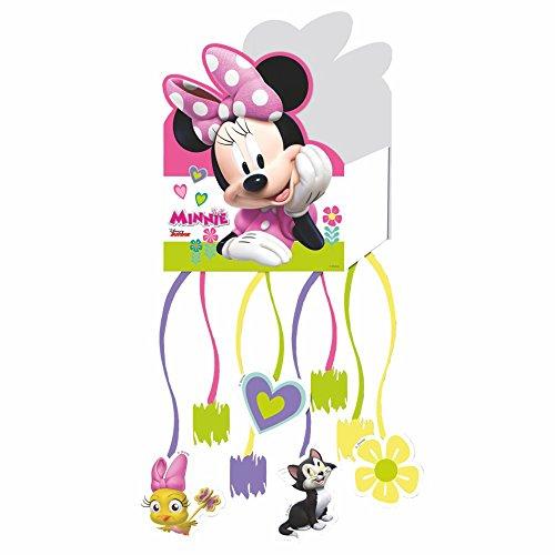 Disney Minnie Mouse - Partido - Cumpleaños - Piñata con 8 Bandas