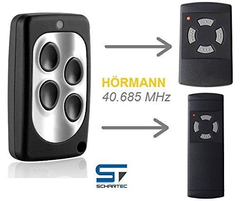 Handsender 40,685 MHz für Hörmann Garagentorantrieb ersetzt HSM 4 - HS 4 - HSE 2 Garagentoröffner 40.685 - Funk Fernbedienung 40 MHz Toröffner 40685