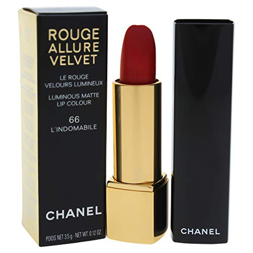 CHANEL ROUGE ALLURE VELVET IL ROSSETTO MAT LUMINOSO Rossetto Matte 3,5 g 66 L'INDOMABILE