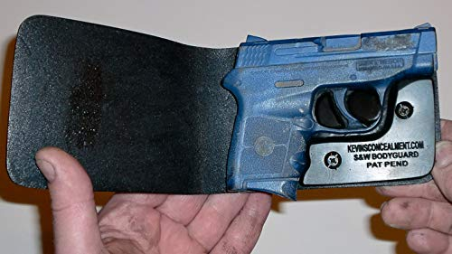 Wallet Holster for Full Concealment - Smith & Wesson Bodyguard (Black, Right Hand, No Laser)