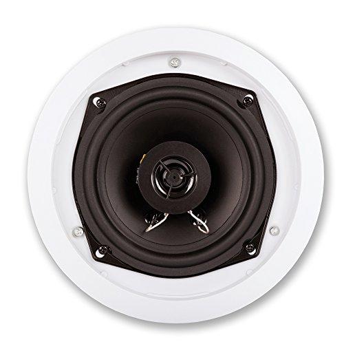 Acoustic Audio R191 in Ceiling/in Wall 5 Speaker Set 2 Way Home Theater 1000 Watt New R191-5S