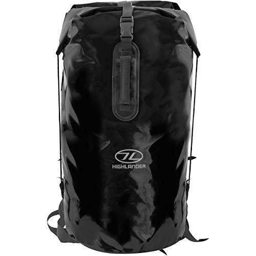 Highlander Troon Drybag Duffle Bag - Black