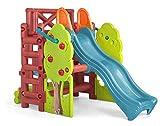 FEBER Famosa 800009590 - Wood House - Aktivitätszentrum für Kinder von 2 bis 7 Jahren