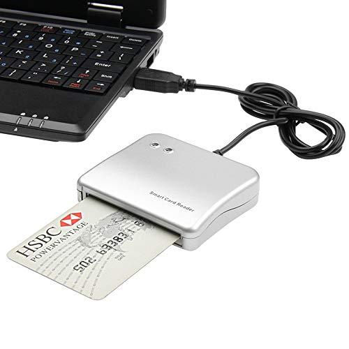 DZSF USB-kaartlezer, telefoonkaart, telefoongeheugenkaart voor smart kaart, microsd-lezer, computer