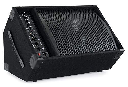 Pronomic KAM-12BT Aktiver Bühnenmonitor - PA Monitor Lautsprecher mit Bluetooth- 120 Watt (RMS), 3-Band-Equalizer - 12