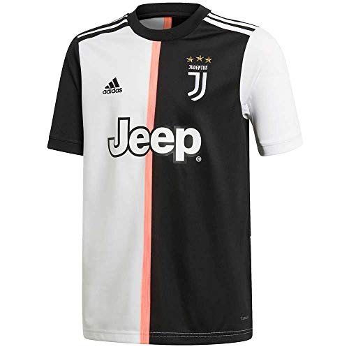 adidas Kid's Juventus Home Jersey 2019-20 (Medium) Black/White