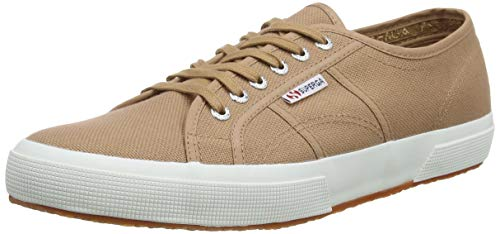 Superga 2750 COTU Classic Sneakers, Zapatillas Unisex Adulto, Marrón (Brown Dusty Wg6), 49 EU