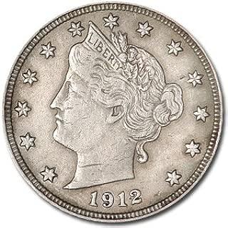 1912 Liberty Head V Nickel XF Nickel Extremely Fine