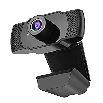 Amazon - Save 50%: 1080P Webcam with Microphone, WeChip 1080P Desktop or Laptop USB W…