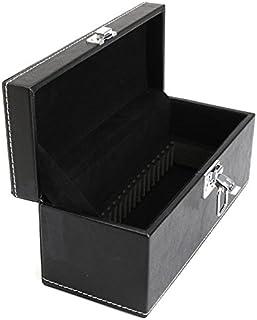 Gaoominy 収納ボックス コインスラブジュエリー PU複合合板スタイル バンドルコインディスプレイボックスケース ホームオーガナイザーのために