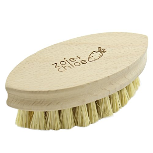 Zoie + Chloe 100% Natural Plant-Fiber Soft Bristles Vegetable Brush