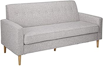Great Deal Furniture 3 Seater Christopher Mid Century Modern Fabric Sofa