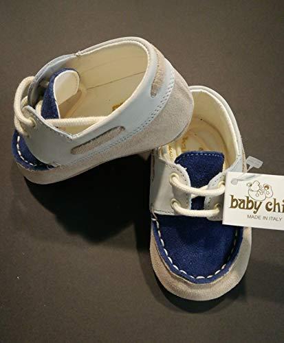 BABY CHIC - Zapatos DE Primer Paso Baby COT Made IN Italy N.16