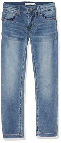NAME IT Jungen Jeans NKMTHEO DNMTHAYER 1166 SWE Pant NOOS, Blau (Light Blue Denim), (Herstellergröße:104)